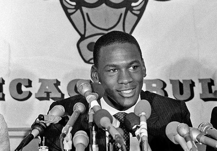 Michael Jordan en el sorprendente Draft de 1984 foto 2