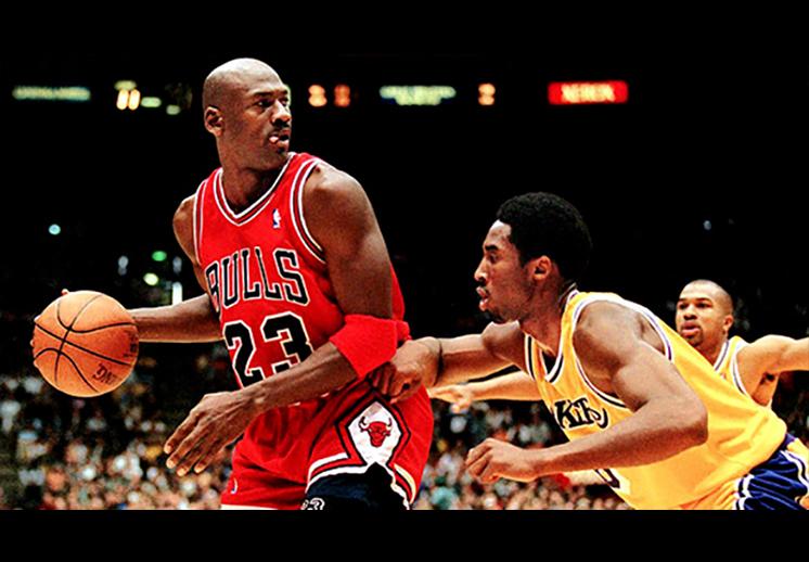 Kobe el favorito de Jordan