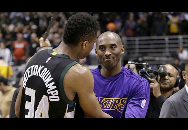 El reto de Kobe a Giannis foto 2