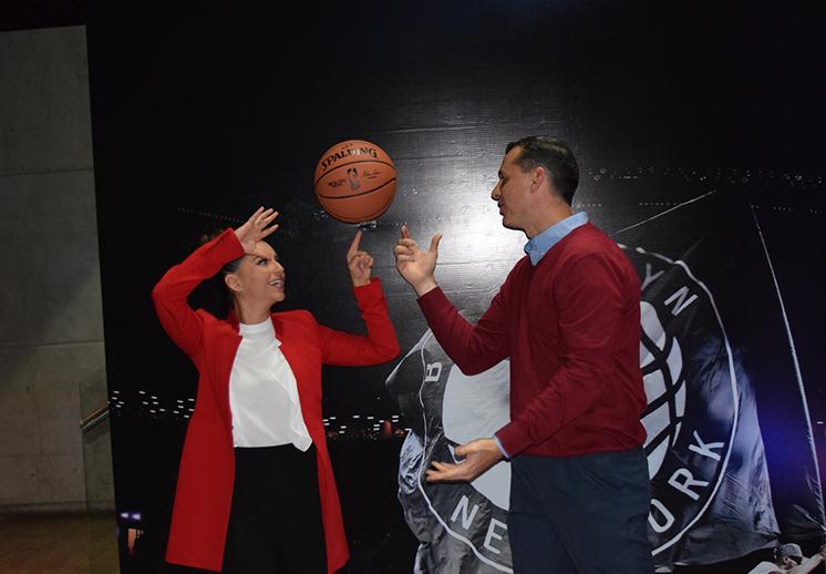 El anuncio oficial de los juegos de la NBA en México