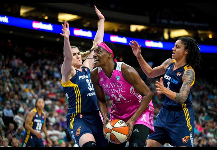 Paliza histórica de Minnesota en la WNBA