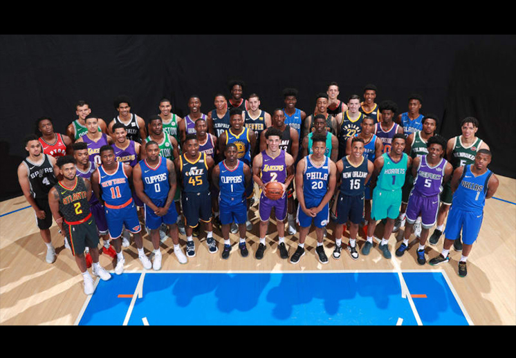 La fiesta de los novatos de la NBA