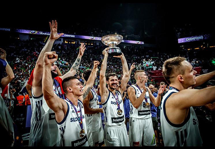 Eslovenia dio la sorpresa en el eurobasket