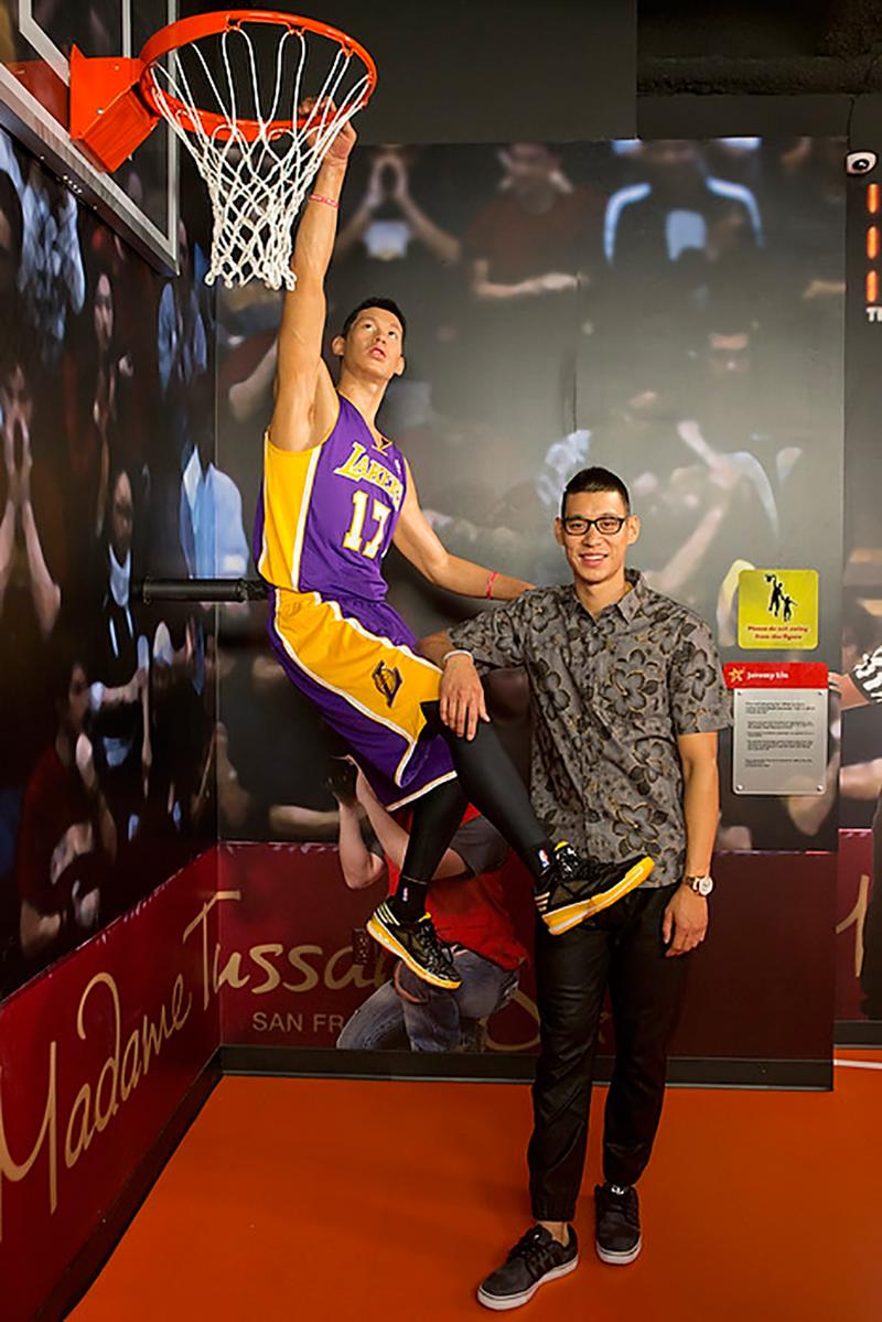 La figura de cera de Jeremy Lin