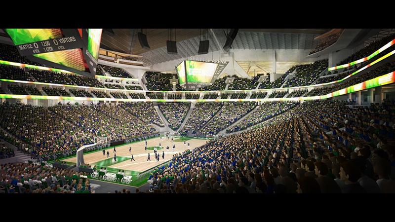 El basquet quiere volver a Seattle