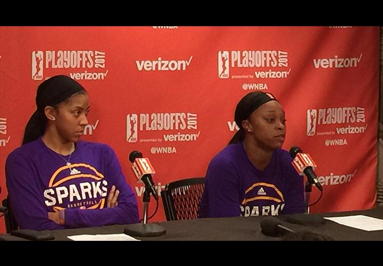 Sparks y Linx con ventaja en los playoffs de la WNBA