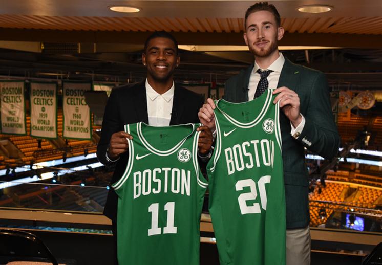 Los Celtics de Boston están completos