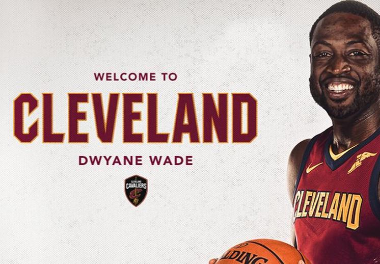 La llegada de Dwyane Wade a los Cavs