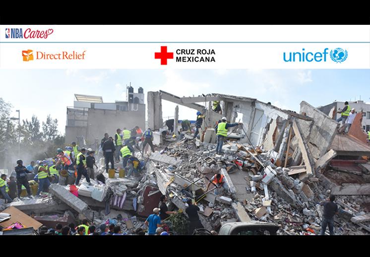 thumb NBA Cares se solidariza ante el sismo en México