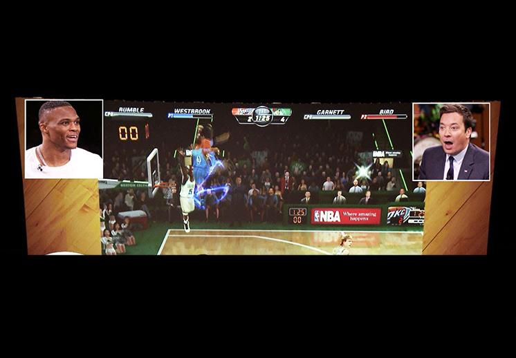 Russell Westbrook revivió el NBA Jam