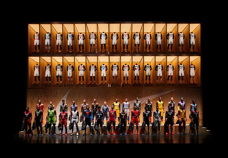 Nuevos jerseys NBA nike foto 4