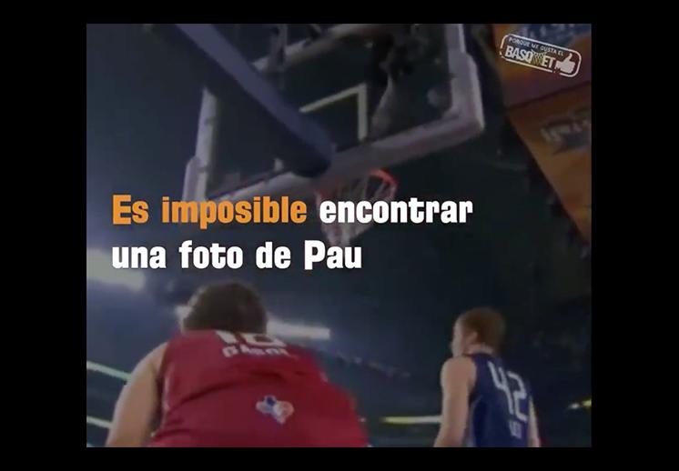 ¿Por qué el número de Pau Gasol es el 16?