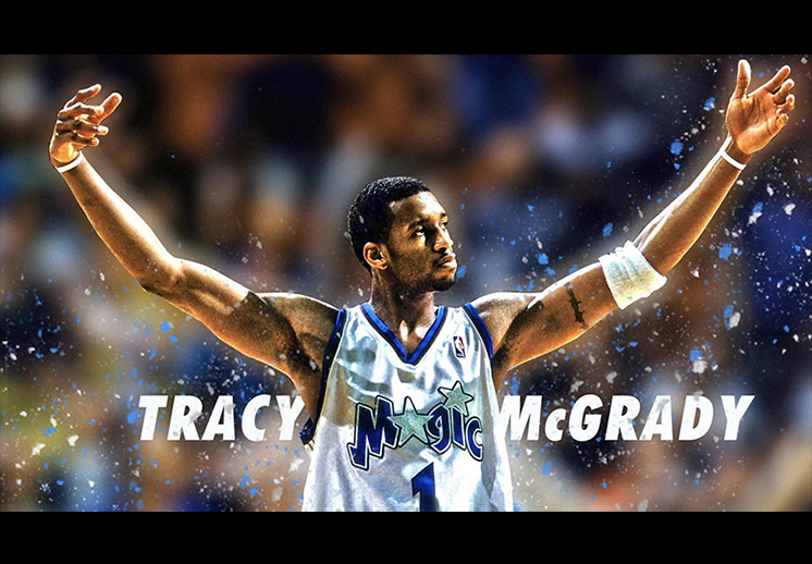 Tracy McGrady se vuelve inmortal