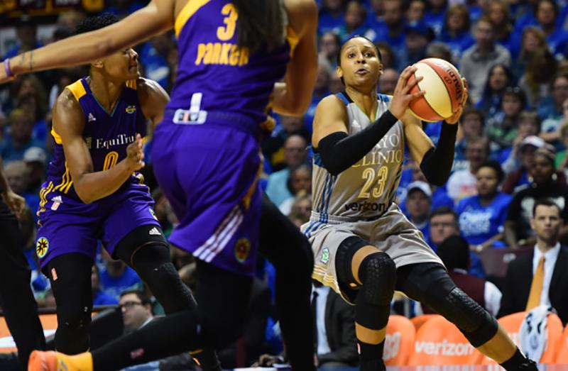 Frenar a Maya Moore en las finales de la WNBA