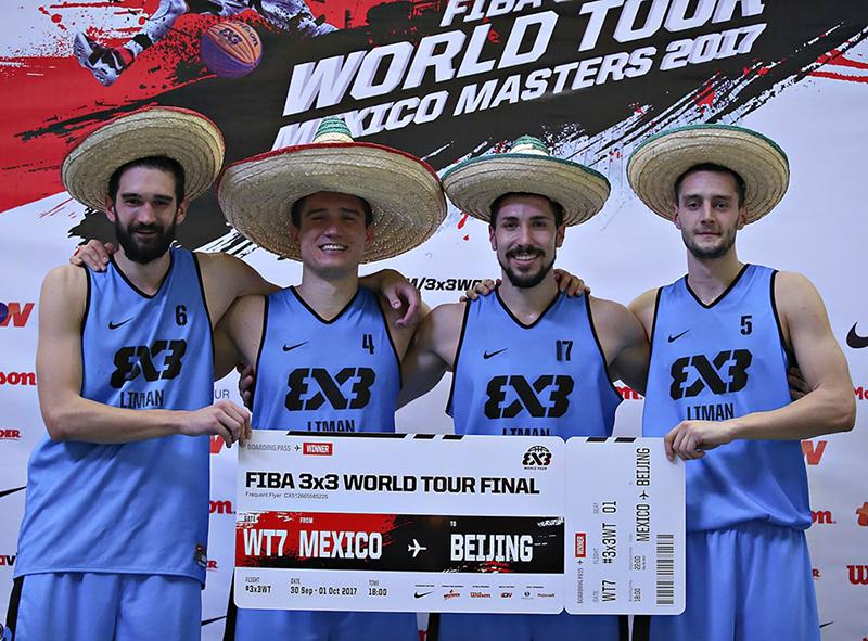 La gira FIBA 3X3 aterrizó a la CDMX foto 1