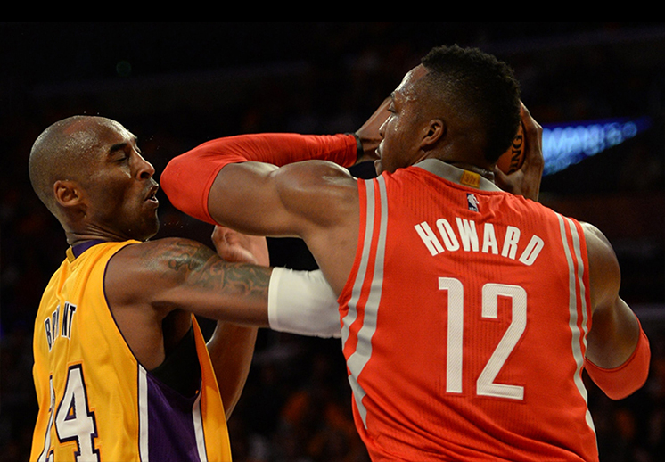 Kobe Bryant vs Dwight Howard