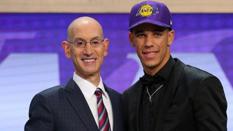 El segundo pick del NBA Draft