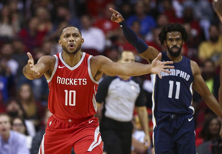 El primer tropiezo de los Rockets