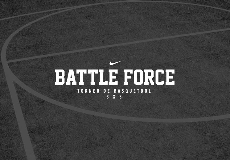 Battle Force Torneo de Basquetbol 3 X 3. La batalla está por comenzar foto