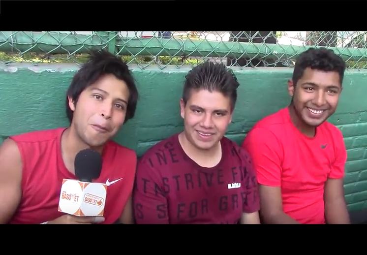 Las voces del Battle Force Torneo de Basquetbol 3x3