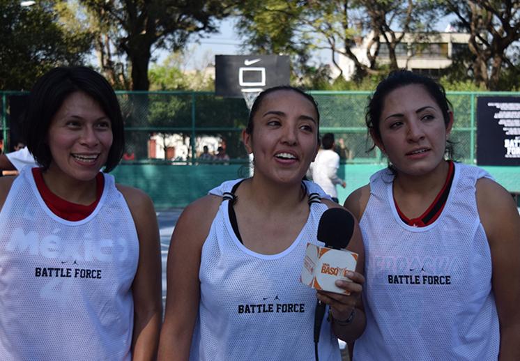 Hablan los finalistas del Battle Force Torneo de Basquetbol 3x3