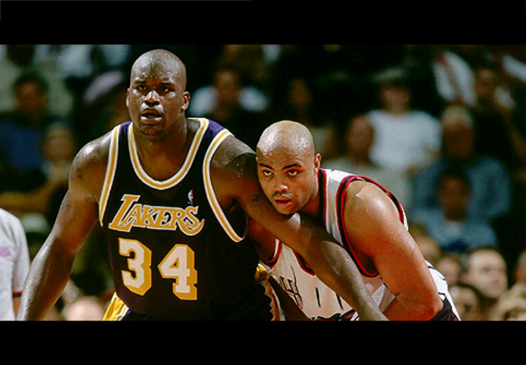 Shaquille O'Neal vs Charles Barkley