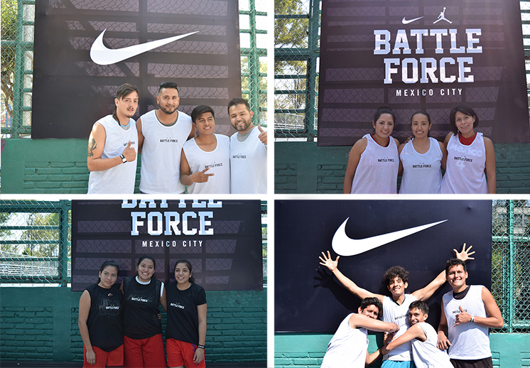 , Battle Force Torneo de basquetbol 3x3 x vivabasquet y nike
