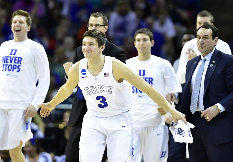 Duke comienza en la cima del ranking NCAA