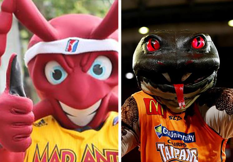 """Las mascotas más """"creepies"""" del basquetbol"""