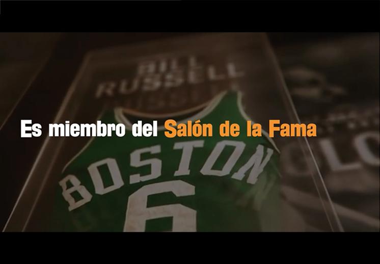Bill Russell: La leyenda del basquetbol