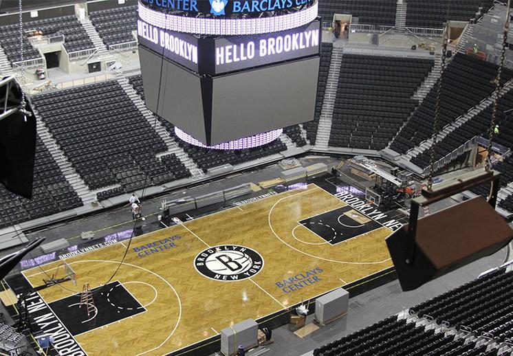 Las nuevas catedrales del basquetbol en la NBA