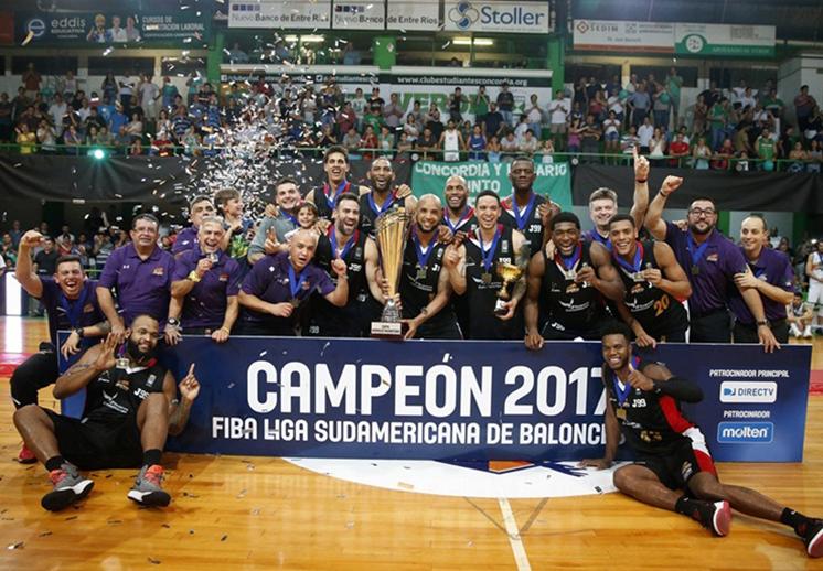 Guaros de Lara Campeón de la Liga Sudamericana 2017