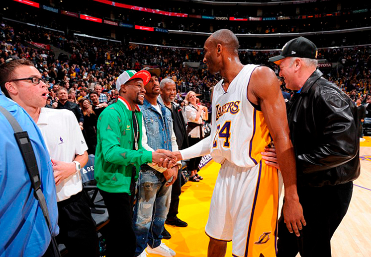¿Kobe vs Mayweather?