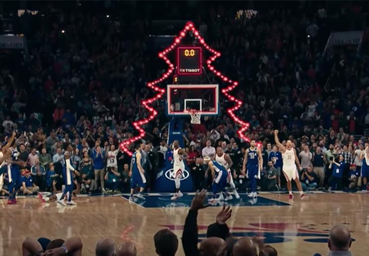 La NBA se alista para la Navidad