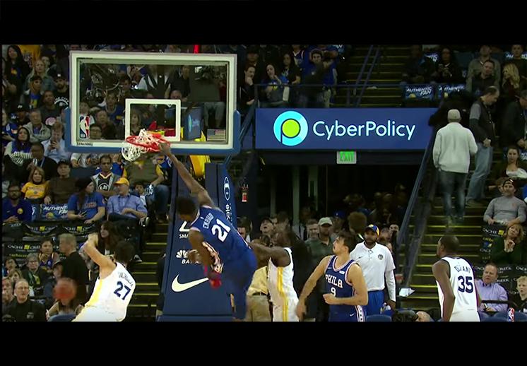 Clavadas para recordar en la NBA