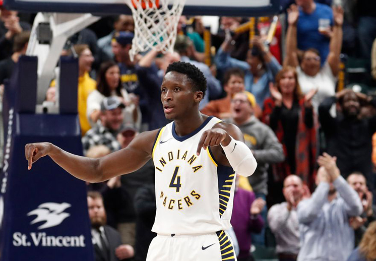 Oladipo anda imparable