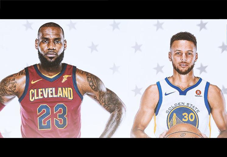 LeBron y Curry serán los capitanes de las estrellas