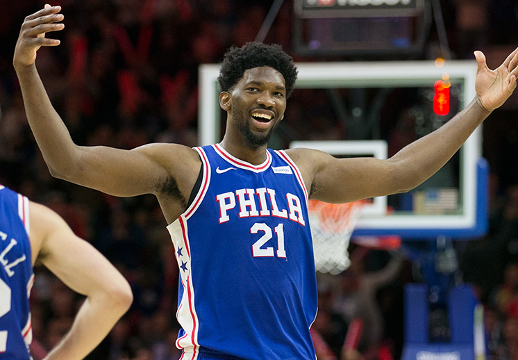 La historia de Embiid y el All Star Game