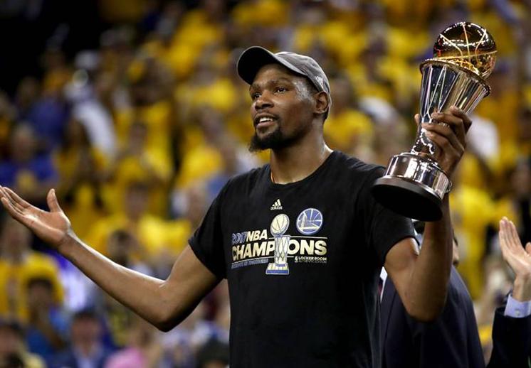 Kevin Durant quiere ser dueño de un equipo cuando se retire
