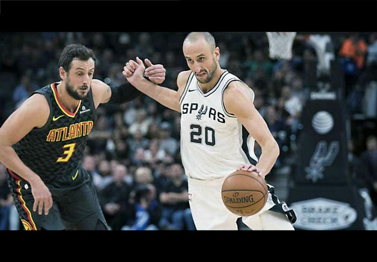 Spurs pierden con Hawks… ¿y a Manu?