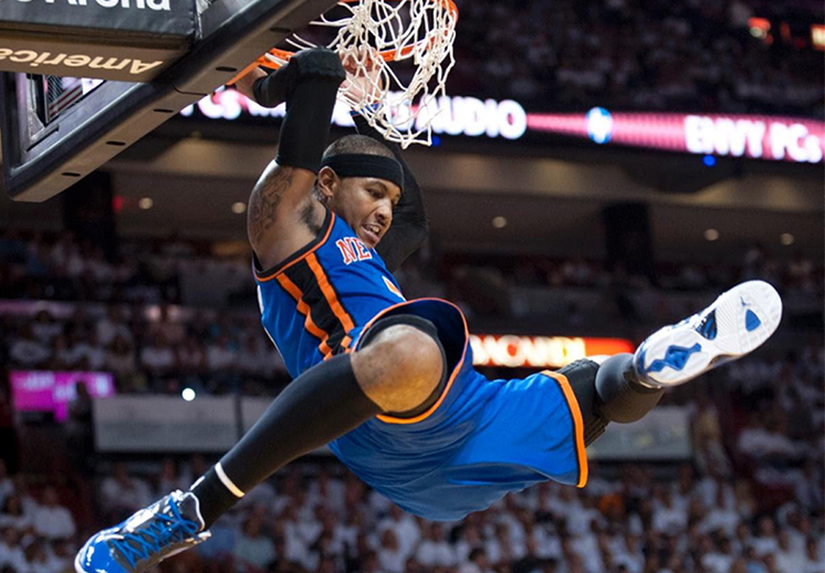 Las mejores 25 clavadas de Carmelo Anthony