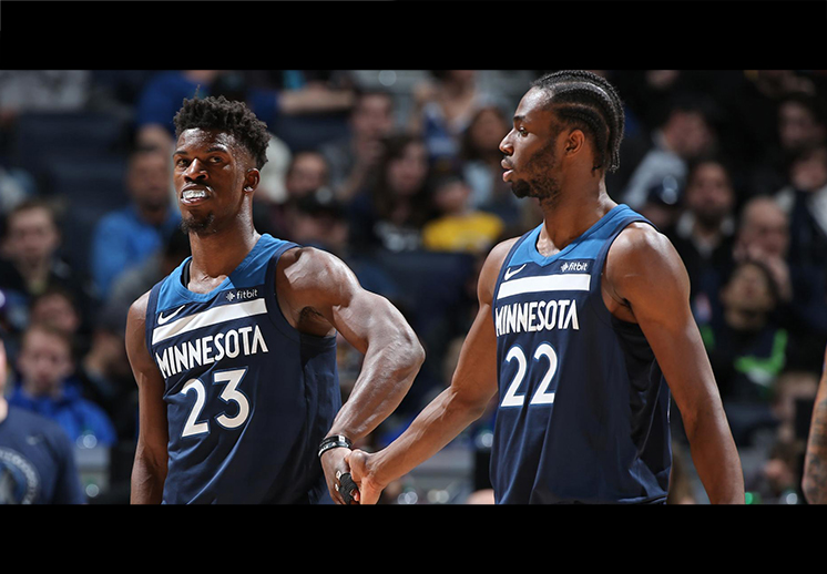 Los Timberwolves destrozaron a los Cavaliers
