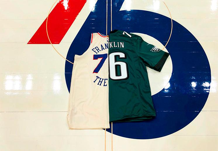 Los 76ers mandaron un mensaje a las Águilas de Filadelfia