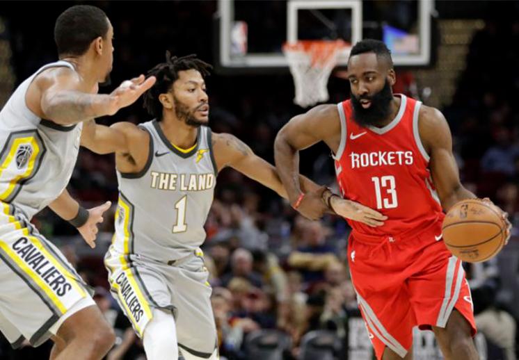 Los Rockets no tuvieron piedad con los Cavs
