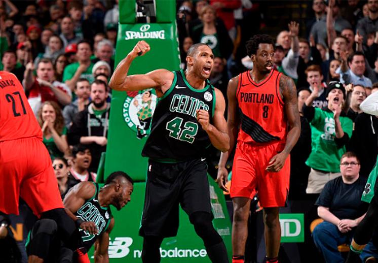 Al Horford el héroe de los Celtics
