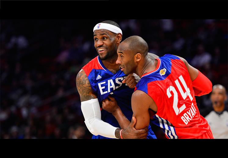 "Kobe: ""LeBron sobre Shaquille O'Neal"""