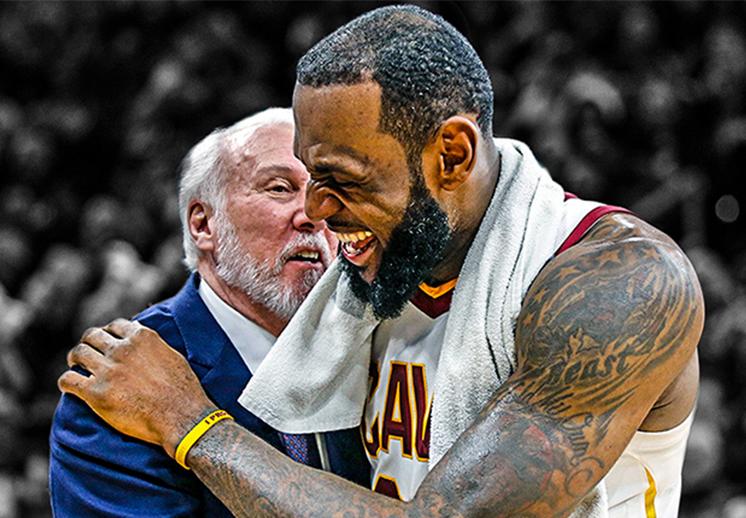 Gregg Popovich externó su apoyo total a LeBron James