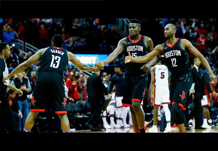 El poder africano de los Rockets