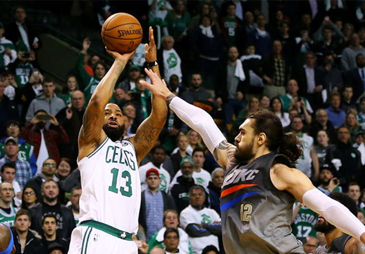 Los Celtics revivieron en el Garden