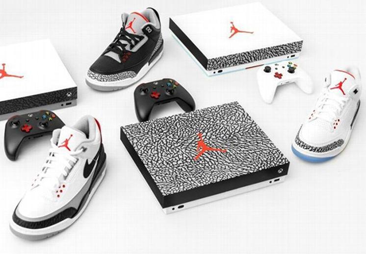 Xbox y Jordan lanzarán consolas conmemorativas